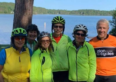 Group Photo Lake